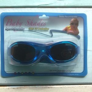 Other - Infant Baby Sunglasses Shades UV Protect 0-24 Mo